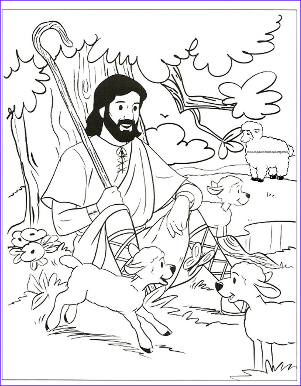 Jesus the Good Shepherd Coloring Page Best Of Photos 1000 Images About Sunday School On Pinterest