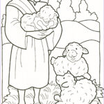 Jesus The Good Shepherd Coloring Page Best Of Stock Religious Education On Pinterest