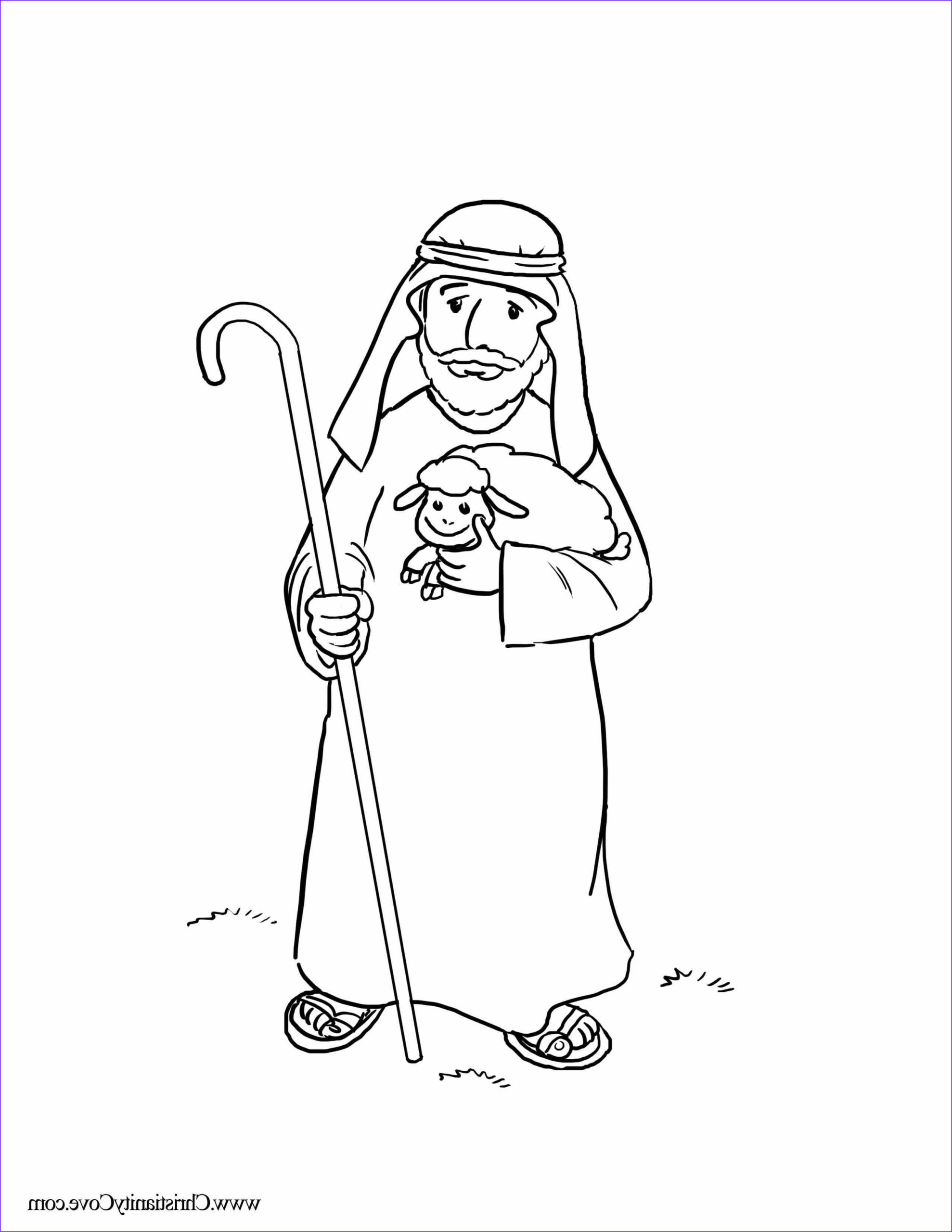 Jesus the Good Shepherd Coloring Page Inspirational Gallery Bible Printables Coloring Pages for Sunday School