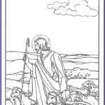 Jesus The Good Shepherd Coloring Page Inspirational Photography 150 Catholic Coloring Pages Sacraments Rosary Saints