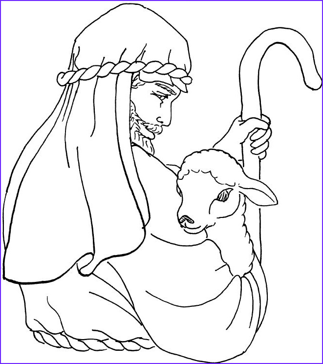 Jesus the Good Shepherd Coloring Page Luxury Images 551 Best Images About Jesus the Good Shepherd On Pinterest