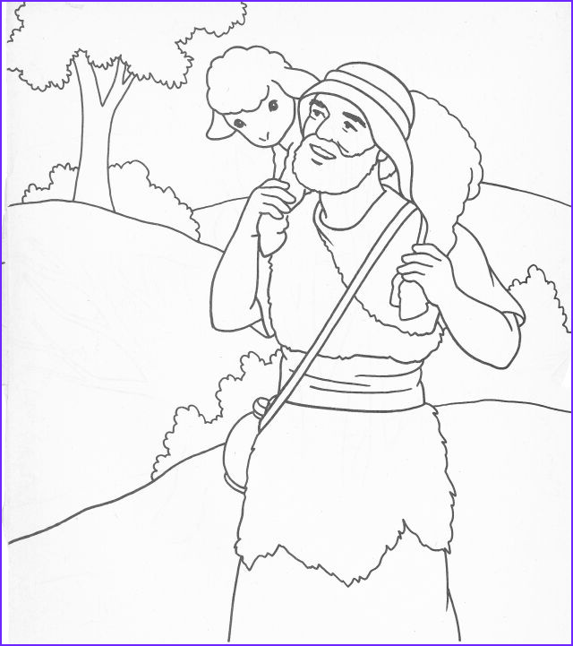 Jesus the Good Shepherd Coloring Page Unique Stock the Good Shepherd