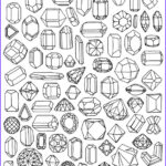 Jewelry Coloring Pages Beautiful Collection Fabric Paper Glue Let S Embroider Some Sh T Diy