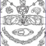 Jewelry Coloring Pages Beautiful Gallery 1299 Best Images About Coloring Outside The Lines On Pinterest