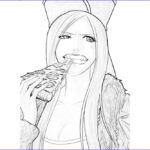 Jewelry Coloring Pages Cool Images Jewelry Bonney Jewelry Bonney Eating