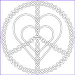 Jewelry Coloring Pages Cool Photos Silver Love And Peace Jewelry Coloring Page Coloring Sky