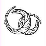 Jewelry Coloring Pages Elegant Photos Jewelry Earrings Coloring Page