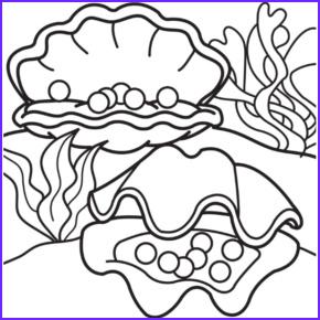 Jewelry Coloring Pages Inspirational Gallery Jewelry Pearl Oysters Coloring Page Pearl Necklace