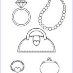 Jewelry Coloring Pages Inspirational Photos Free Printable Coloring Pages For Girls With A Stylish