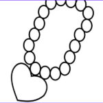 Jewelry Coloring Pages Luxury Photography Necklace Coloring Page At Getcolorings