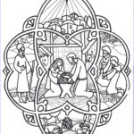 Jewelry Coloring Pages New Collection Christmas Coloring Page Nativity