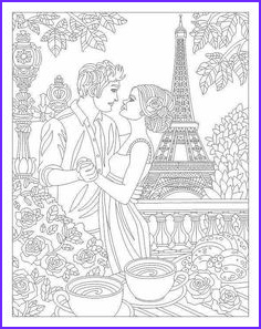Jewelry Coloring Pages New Gallery Printable Coloring Page by Dover Publications Art Nouveau