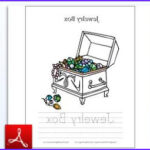 Jewelry Coloring Pages Unique Photos Letters & Numbers Handwriting Tracing & Coloring Free