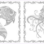 Johanna Basford Coloring Cool Stock Lost Ocean An Inky Adventure & Colouring Book By Johanna