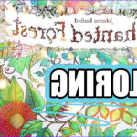 Johanna Basford Coloring Inspirational Collection Coloring Book Journey 001 Enchanted forest by Johanna