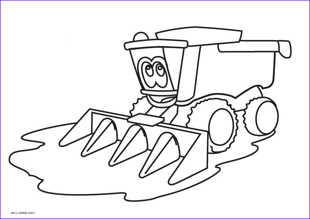 John Deere Coloring Best Of Stock Free Printable Tractor Coloring Pages for Kids