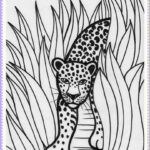Jungle Coloring Pages Luxury Images Realistic Jungle Animal Coloring Pages