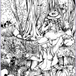 Jungle Coloring Pages New Photography Lost In Forest Jungle & Forest Adult Coloring Pages
