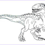 Jurassic World Coloring Pages Awesome Stock Jurassic World Coloring Pages Indoraptor Pdf Free