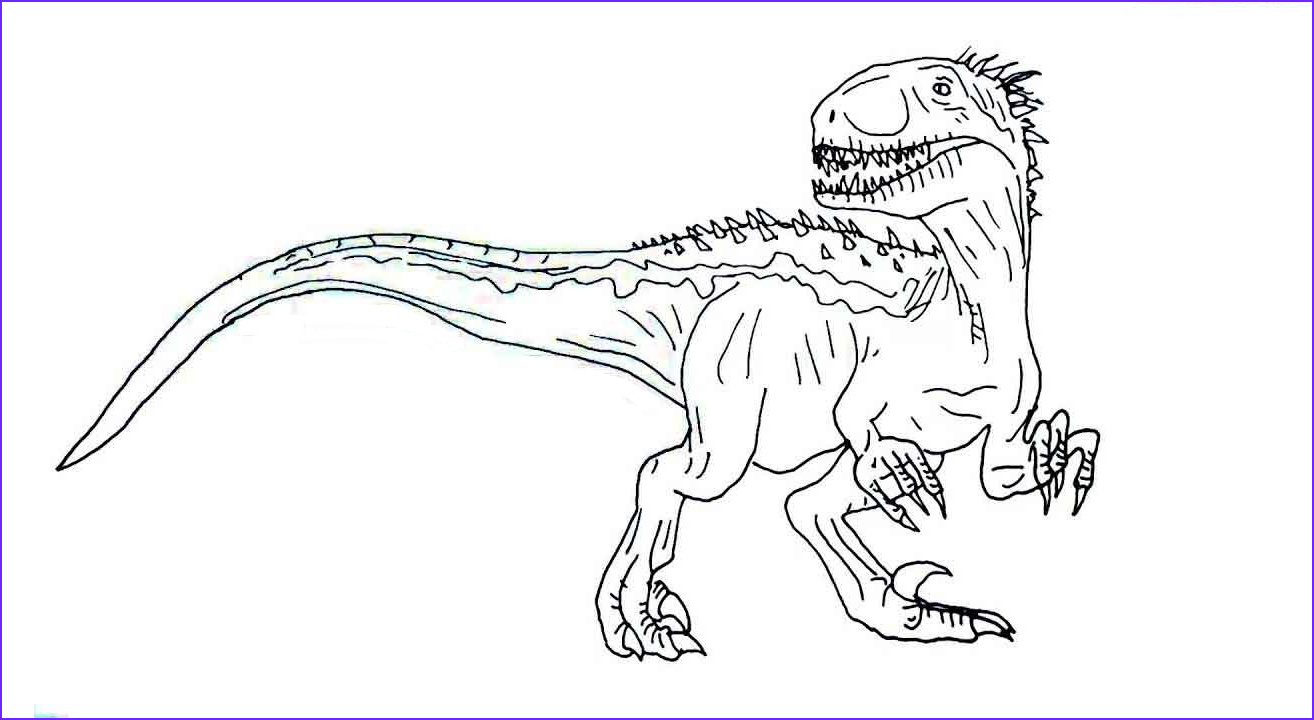 jurassic world coloring pages indoraptor pdf free printable jurassic world indoraptor coloring pages to print pictures