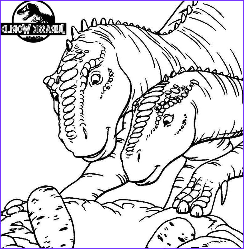 jurassic world coloring pages