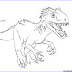 Jurassic World Coloring Pages Beautiful Stock Jurassic World Fallen Kingdom Coloring Pages Indomius Rex