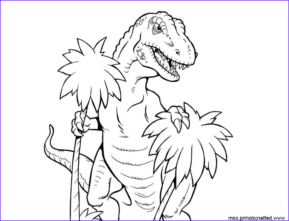 t rex from jurassic world fallen kingdom coloring pages