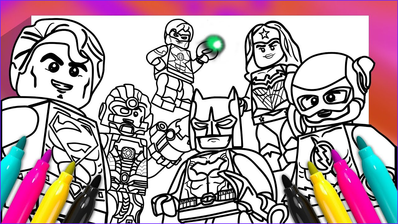 Justice League Coloring Book Awesome Photos Justice League Coloring Book