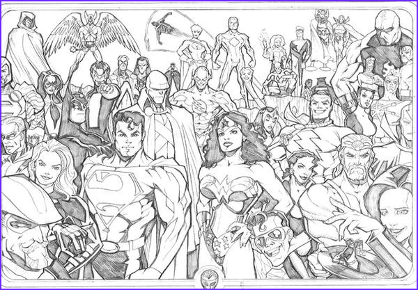 Justice League Coloring Book Beautiful Photography Justice League 2005 by Guinnessyde On Deviantart