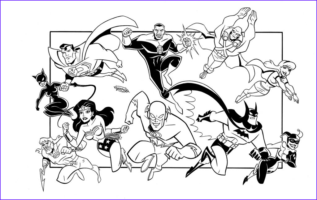Justice League Coloring Book Cool Photos Justice League Coloring Pages Best Coloring Pages for Kids