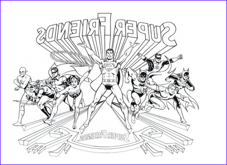 Justice League Coloring Book Cool Photos Justice League Coloring Pages to and Print for Free