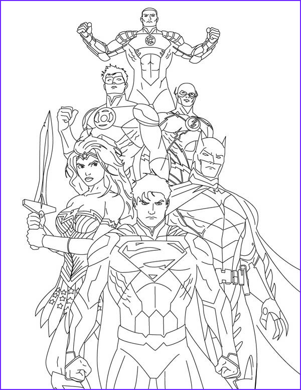 Justice League Coloring Book Inspirational Photography Justice League Coloring Pages Best Coloring Pages for Kids