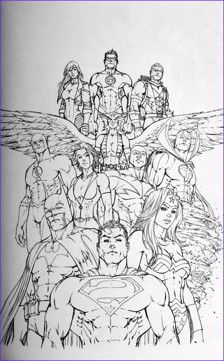 Justice League Coloring Book New Gallery Ic Books Movies Games Blog Everything to