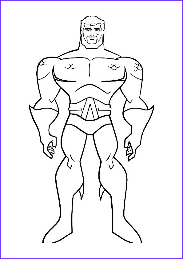 Justice League Coloring Book New Photos Print Coloring Image