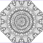 Kaleidoscope Coloring Beautiful Images 11 Best Color Pages Images On Pinterest