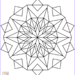 Kaleidoscope Coloring Beautiful Stock Awesome Kaleidoscope Coloring Picture