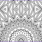 Kaleidoscope Coloring Best Of Collection Printable Kaleidoscope Coloring Page Kaleidoscope Visions