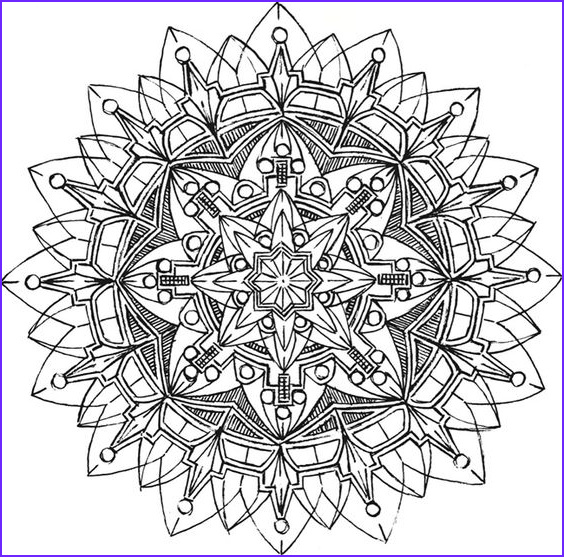 Kaleidoscope Coloring Book Beautiful Image Kaleidoscopes Dovers and Dover Publications On Pinterest
