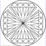 Kaleidoscope Coloring Elegant Photography Kaleidoscope Printable Coloring Pages