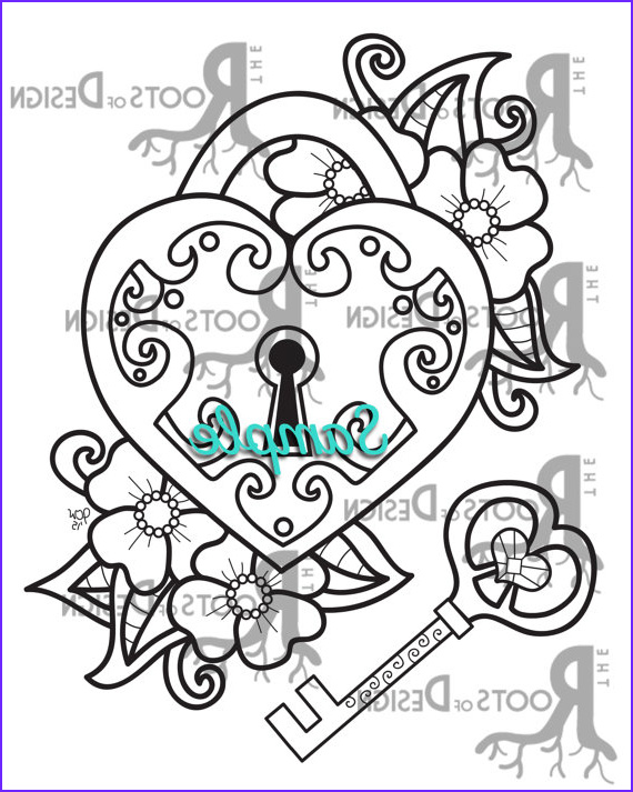 Key Coloring Page Beautiful Gallery Key to My Heart Drawing at Getdrawings