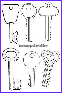 Key Coloring Page Best Of Photos Best S Of Printable Key Template Cut Out Free