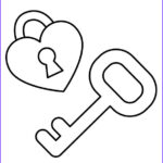 Key Coloring Page Cool Image Lock And Key Coloring Pages Coloring Pages