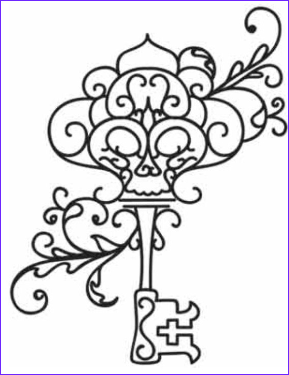 Key Coloring Page Elegant Photos Skeleton Key Coloring Page at Getcolorings