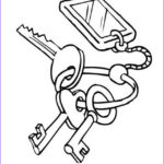 Key Coloring Page Inspirational Gallery Keys Coloring And Paint