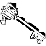 Key Coloring Page Luxury Stock Kingdom Hearts Weapon Patterns – Cosplay Making