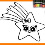 Kid Paint Coloring Cool Photos Learn To Draw And Coloring For Kids And Paint A Star