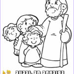 Kids Bible Coloring Pages Beautiful Stock New Bible Coloring Friends Jesus Tell Other
