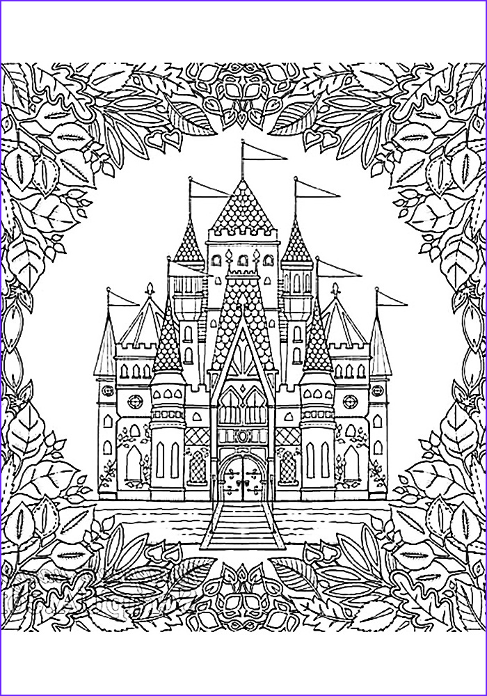 coloring pages anti stress children