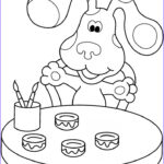 Kids Free Coloring Pages Beautiful Photos Free Printable Blues Clues Coloring Pages For Kids
