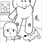 Kids Free Coloring Pages Best Of Collection Pocoyo Páginas Para Colorear Best Coloring Pages For Kids